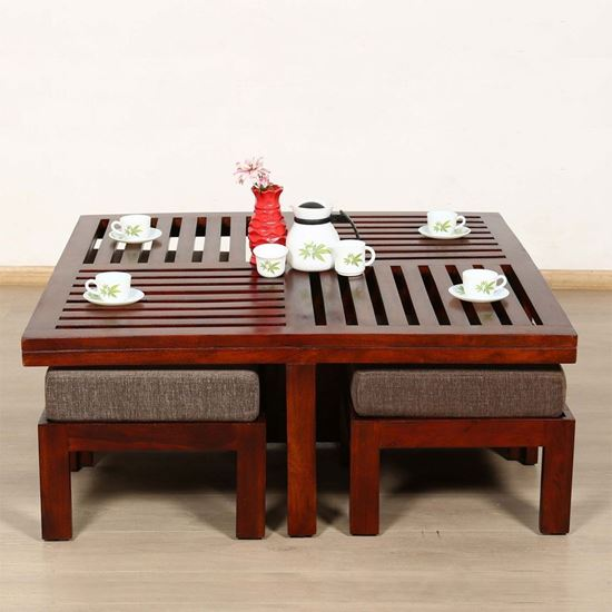 Jolly Solid Wood Coffee Table for living room furniture