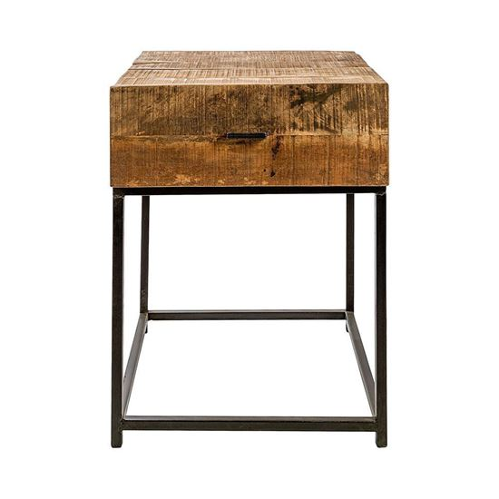 Buy Solid Wood Furniture Empire end table with drawer