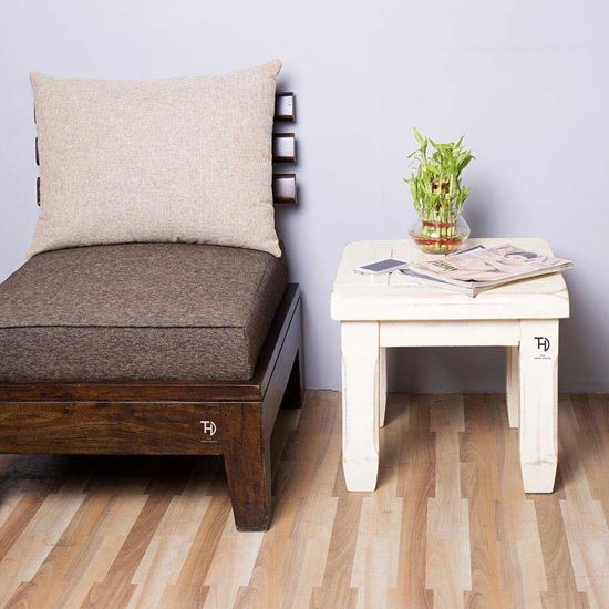 Buy Furniture at Factory Price Crysta Mango Wood Side Table