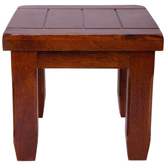 Buy Living Room Furniture Crysta Mango Wood Side Table