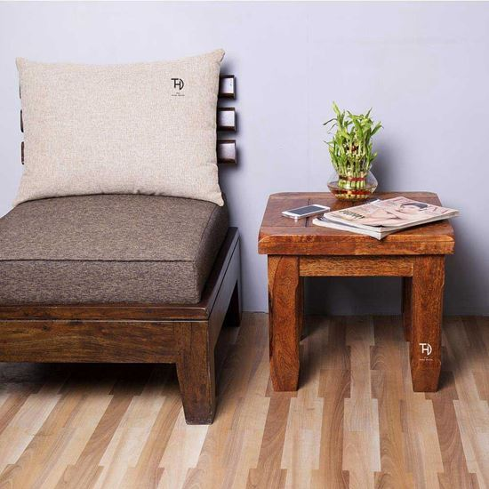 Buy Online Furniture at Factory Price Crysta Mango Wood Side Table