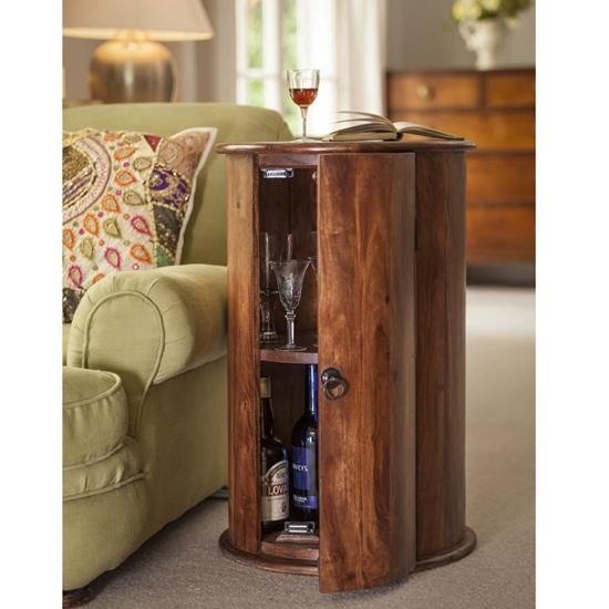 Buy Best furniture online Acropolis round side end table