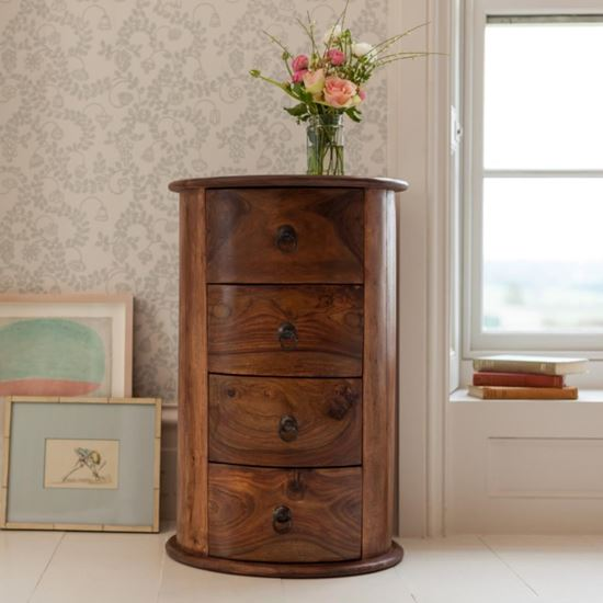 Buy Acropolis round side end table