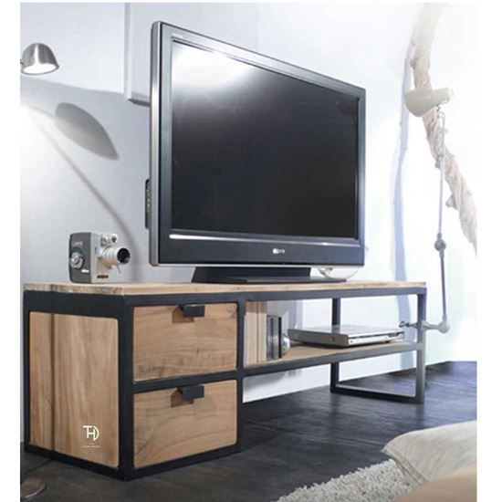 Mango Wood Tv Cabinet by The Home Dekor