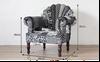 Buy Home Furniture PEACOCK SOFA BLACK AND WHITE