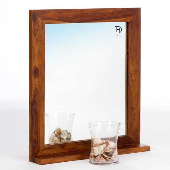 Buy Latin Mirror Frame honey online