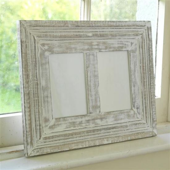 Rustic photo frame for home decor