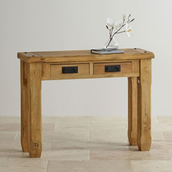Devi console table with 2 drawers