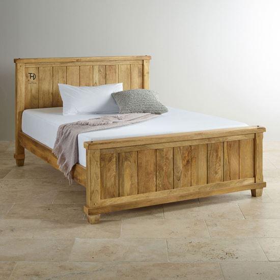Devi king size bed for bedroom furniture