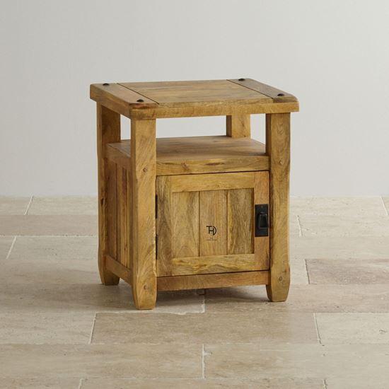 Devi bedside table with 1 door for bedroom furniture