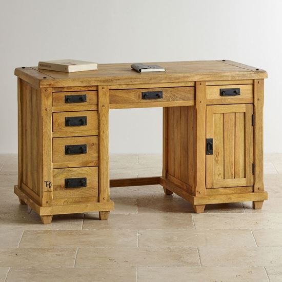 Devi Rom desk with 6 drawers study room furniture