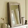 Devi solid wood mirror frame for living room furniture