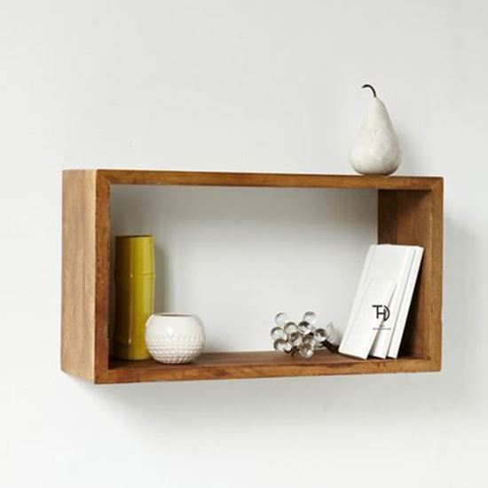Devi recto wall rack for living room furniture