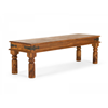 Buy Vintage dining bench in solid wood at best price