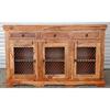 Vintage jali sideboard for dining room furniture