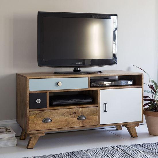 Buy Best Furniture Online Ran multi color tv cabinet