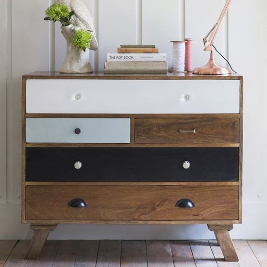 Ran 5 drawer chest for dining room furniture