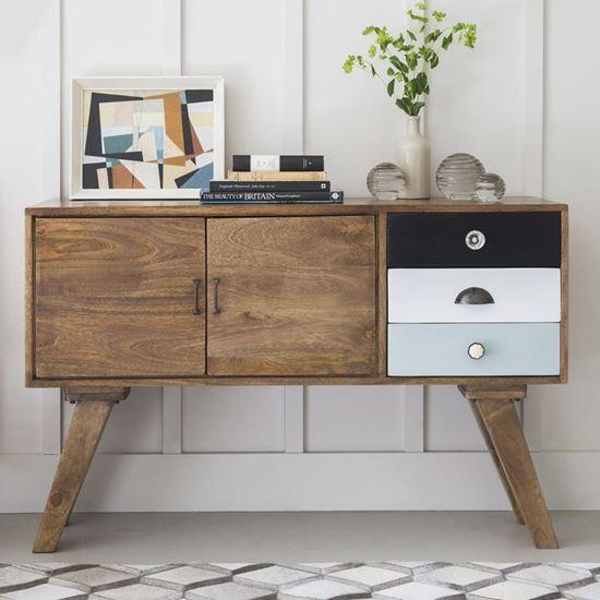 Ran wooden sideboard for living room furniture