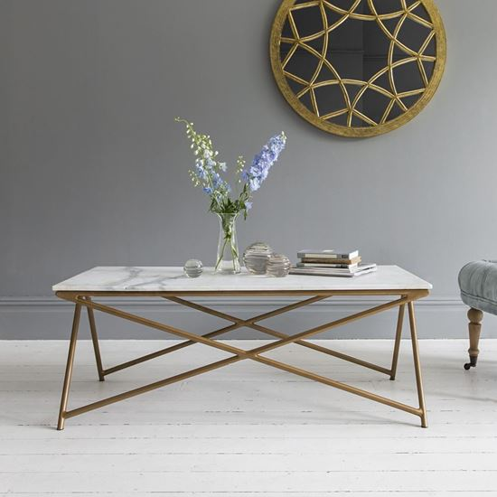 Marbi Coffee Table white for living room