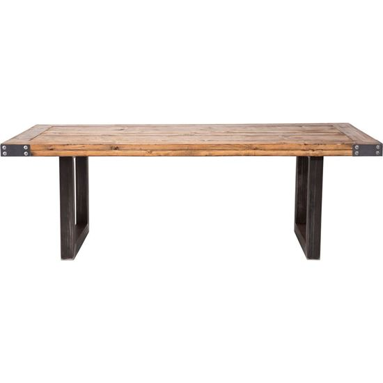 Ran rustic dining table for dining room furniture