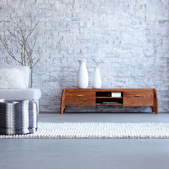 Buy Sheesham Wood Furniture Rhino tv cabinet