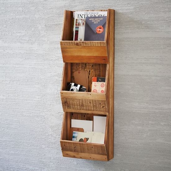 Ran wall magazine holder for dining room furniture
