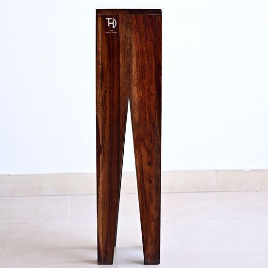 Buy Online Furniture V Cut Designer End Table