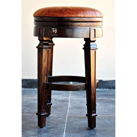 Buy Baltoro round bar stool for bar cabinet