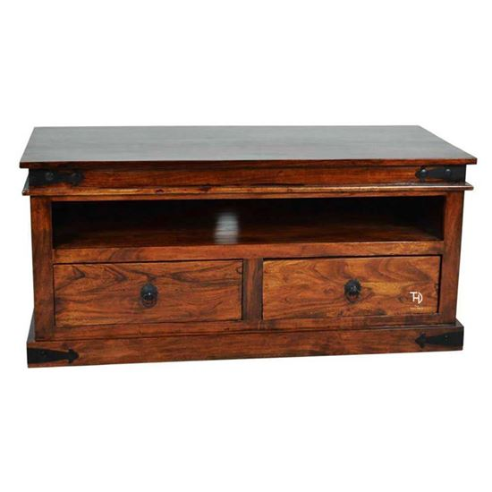 Buy 2 Drawer Tv cabinet wooden at factory price
