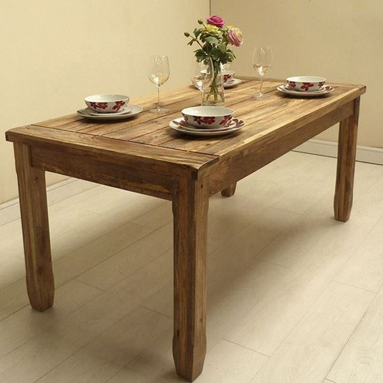 Buy Devi 6 seater dining table for dining room furniture