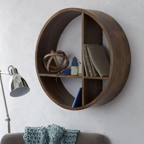 Buy round wall rack online