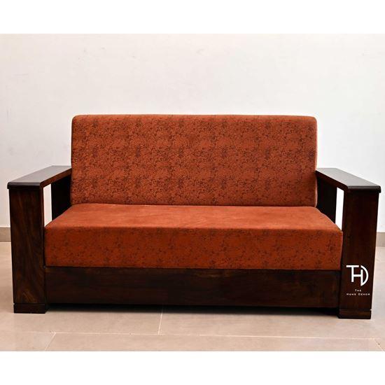 Buy Massive Sofa Set red for Living Room Furniture