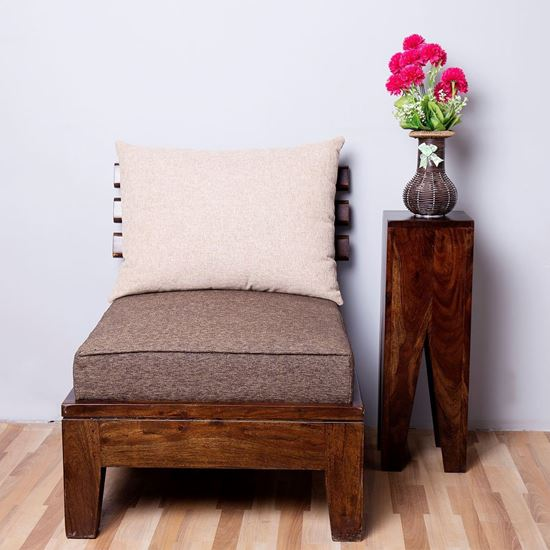 Buy Stand alone end table in natural For Living Room furniture