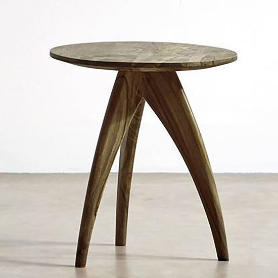 Buy Tripod Side Table Mango Natural at factory price