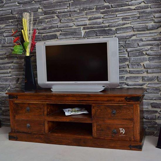 Buy Best Quality Furniture online Vintage tv cabinet 4 drawers