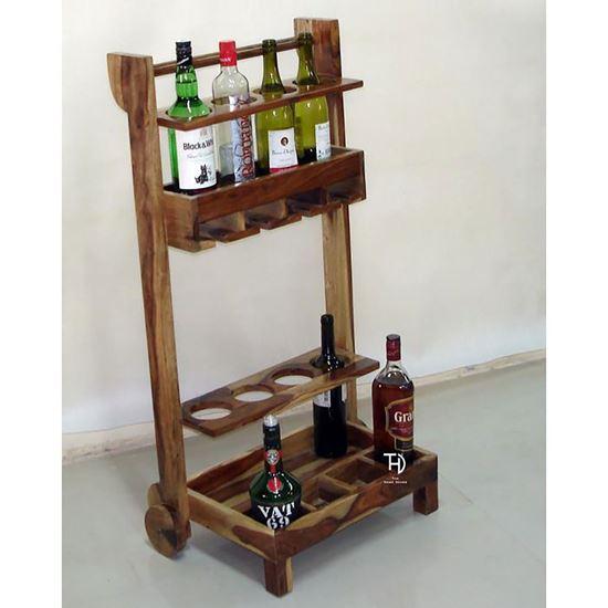 Buy Rustic Looking Bar Cabinet