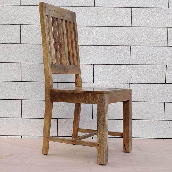 Buy Mango wood dining chair