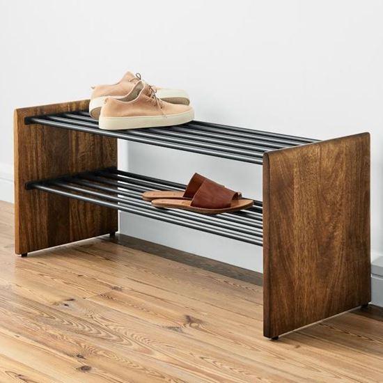 Open shoe rack