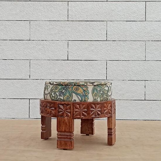Buy Rajsee foot stool at best price