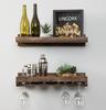 glass wine hangers