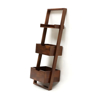 Solid wood bookcase